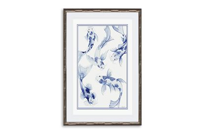 Picture of Koi Fish One framed Print