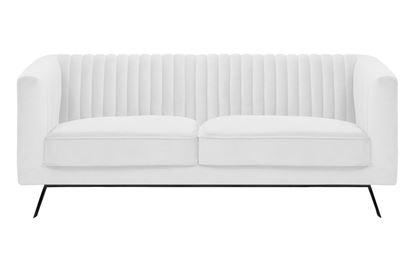 Picture of Mia 2 Seat Sofa Ivory Black Base