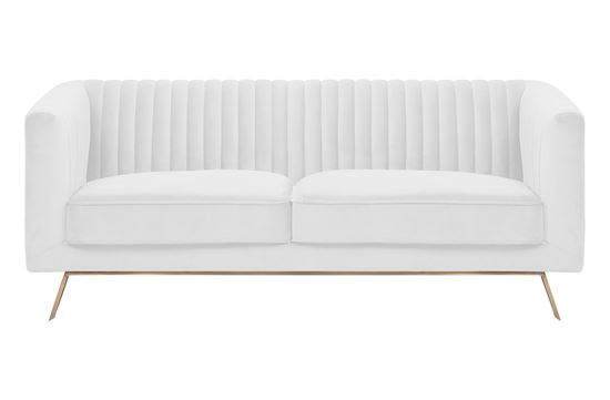 Picture of Mia 2 Seat Sofa Ivory Gold Base