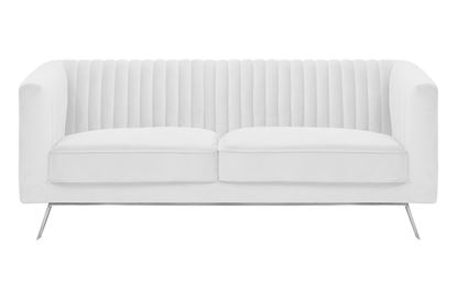 Picture of Mia 2 Seat Sofa Ivory Silver Base