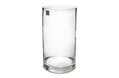 Picture of Glass 30cm Cylinder Vase