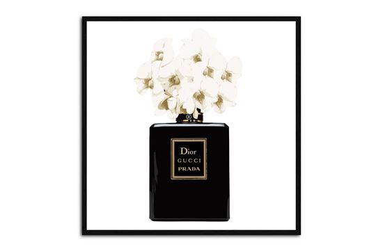 Picture of Parfume 35 x 35 B/F