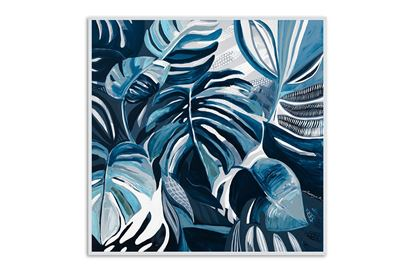Picture of Greenhouse Blues 80 x 80 W/F/C