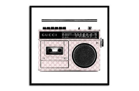 Picture of Gucci Radio 120 x 120 B/F