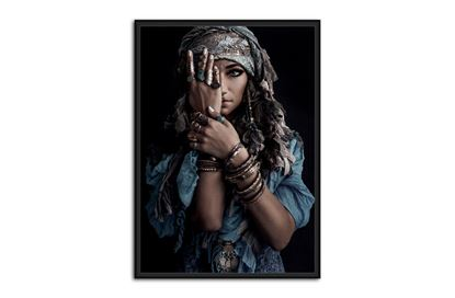 Picture of Moroccan Beauty 120 x 80 B/F