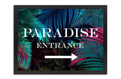 Picture of Paradise 95 x 135 B/F