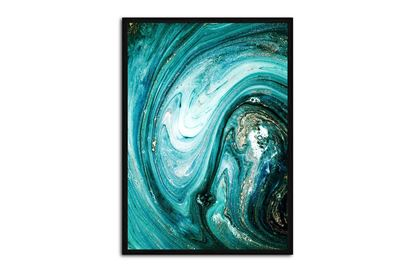 Picture of Teal Abstract 130 x 95 B/F