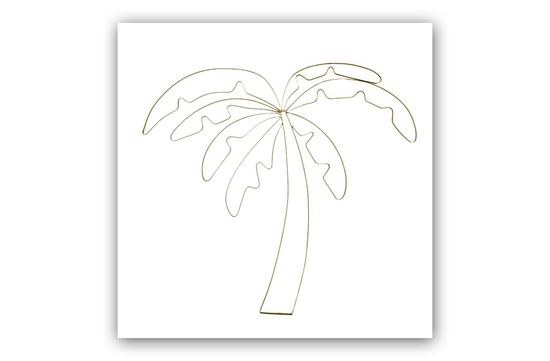 Picture of Palm Tree Wall Deco