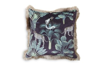 Picture of Black Jungle Luxe Cushion