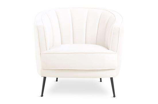 Picture of Georgie Ivory Chair Black