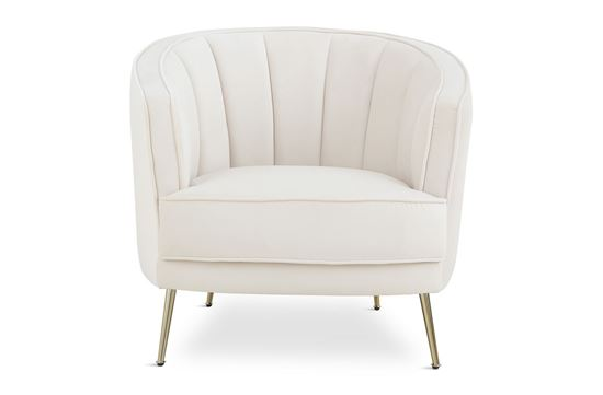 Picture of Georgie Ivory Chair Gold