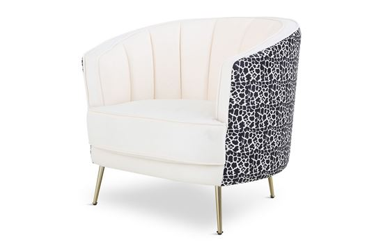 Picture of Cheetah Georgie Ocassional Chair Gold