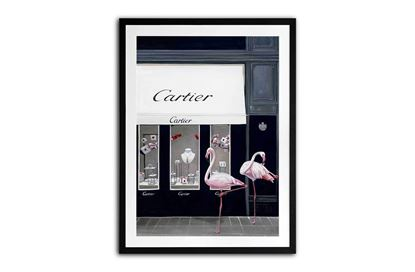 Picture of Cartier Flamingo 105 x 85 B/F