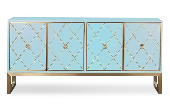 Picture of Cayman Sideboard Sky Gold