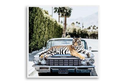 Picture of Gucci Tiger 35 x 35 W/F